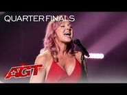 """Storm Large Sings a STUNNING Rendition of """"Take On Me"""" by A-Ha - America's Got Talent 2021"""
