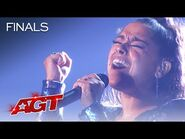 """Brooke Simpson Sings an AMAZING Cover of """"White Flag"""" by Bishop Briggs - America's Got Talent 2021"""