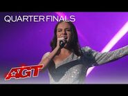 """Tory Vagasy Sings """"Heart of Stone"""" from Six The Musical - America's Got Talent 2021"""