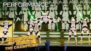 Simon Cowell's Golden Buzzer Boogie Storm Brings Amazing Dance - America's Got Talent The Champions