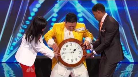 America's Got Talent 2014 - Auditions - Grand Master Qi Feilong