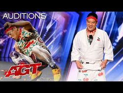 Mr. Cherry Attempts to Break a Record For Crushing Walnuts! - America's Got Talent 2021-2
