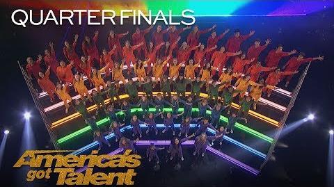 "Voices of Hope Children's Choir Inspiring Kids Sing ""A Million Dreams"" - America's Got Talent 2018"