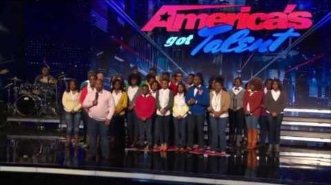 Virginia State University Gospel Chorale - America's Got Talent 2013 Season 8 Week 4 Auditions