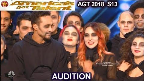 Academy Of Villains Theatrical Dance Company Group America's Got Talent 2018 Audition AGT