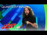Josh Blue Delivers Hilarious Stand-Up Comedy - America's Got Talent 2021