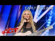 Early Release- Madilyn Bailey Sings a Song Made of Hate Comments - America's Got Talent 2021