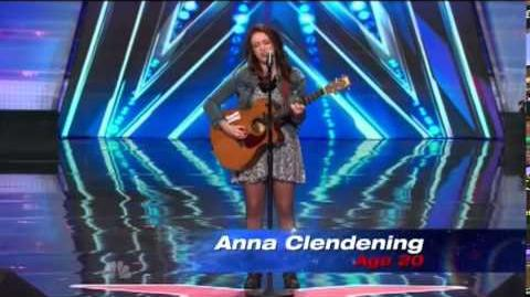 America's Got Talent 2014 Anna Clendening Auditions 3