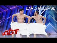 Early Release- Les Beaux Frères SHOCKS The Judges - America's Got Talent 2021