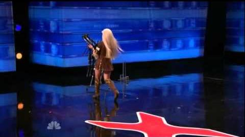 America's Got Talent 2015 Silvia Silvia Auditions 6