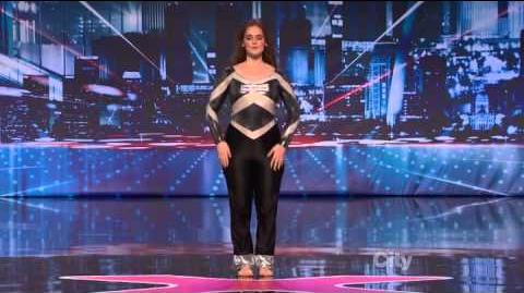 Megan Amigo - America's Got Talent 2013 Season 8 Week 6 Auditions
