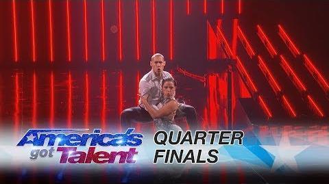 Junior & Emily Alabi Siblings Perform Dazzling Dance Routine - America's Got Talent 2017