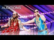 "Johnny Showcase Performs Hilarious Original, ""Sensual"" - America's Got Talent 2021"