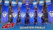 CA Wildcats Howie Mandel Calls Texas Cheer Team The American Version of V