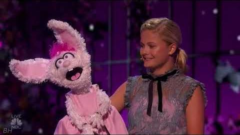 """Darci Lynne """"I Don't Want To Show Off"""" America's Got Talent 2018 Quarter Finals Results Week 1"""