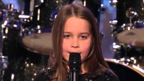 Aaralyn & Izzy - Zombie Skin - America's Got Talent 2013 Season 8 Week 4 Auditions