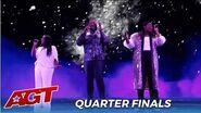 Resound Acapella Trio Show Off AMAZING Harmonies in The Quarterfinals on @America's Got Talent