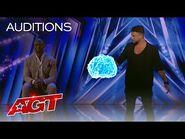 Kevin Micoud Performs Mind-Bending Mentalism - America's Got Talent 2021