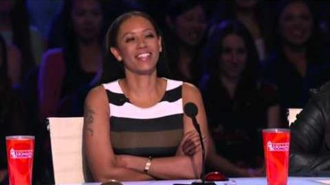 America's Got Talent 2015 11 Year Old Opera Singer Arielle Baril Auditions 5