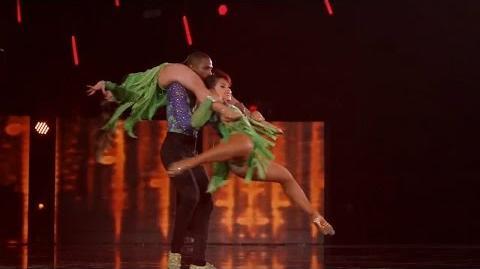 America's Got Talent 2015 S10E13 Judge Cuts - Semeneya Latin Dance Trio