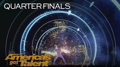 Mochi Spark Diabolo Artist Takes Performance Out Of This World - America's Got Talent 2018