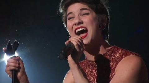 America's Got Talent 2015 S10E13 Judge Cuts - Alicia Michilli Powerful Singer