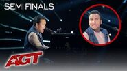 "Kodi Lee Will Make You EMOTIONAL With ""You Are The Reason"" By Calum Scott - America's Got Talent"