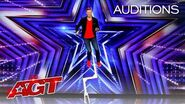 Wesley Williams Takes Unicycling to New and Dangerous Heights! - America's Got Talent 2020