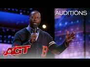 Mike Goodwin Tells Funny Stories About Teaching His Kids - America's Got Talent 2021