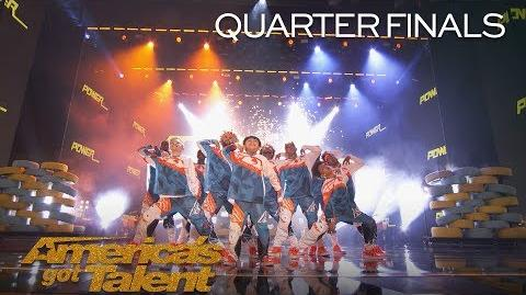 The Future Kingz Chicago Dance Crew Delivers Powerful Performance - America's Got Talent 2018