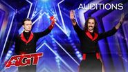 Hilarious Magic?! The Demented Brothers Perform Unique Tricks - America's Got Talent 2020