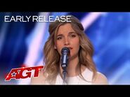 """Early Release- Gabriella Laberge Performs """"Goodbye My Lover"""" - America's Got Talent 2021"""