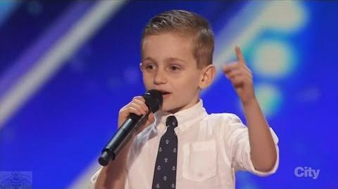 America's Got Talent 2016 Nathan Bockstahler 6 Year Old Stand-up Comedian Full Clip S11E01