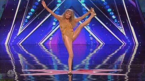 America's Got Talent 2016 Jackie Lee Hilarious 83 YO Super Patriot Full Audition Clip S11E06