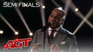 """Archie Williams Sings an EMOTIONAL Rendition of """"Flying Without Wings"""" - America's Got Talent 2020"""