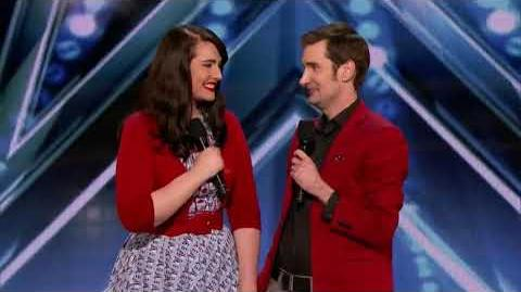 America's Got Talent 2018 Sean and Lindsay Auditions 2