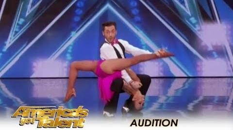 Quin & Misha 71-Year-Old SHOCKING Age-Defying Dance Moves! America's Got Talent 2018
