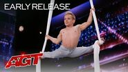 Alan Silva Delivers Stunning Aerial Silks Performance - America's Got Talent 2020