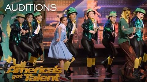 PAC Dance Team High School Dance Group Slays The Stage - America's Got Talent 2018