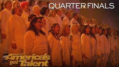 """Angel City Chorale Powerful Choir Sings """"This Is Me"""" - America's Got Talent 2018"""