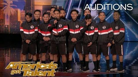 Junior New System All Male Filipino Dance Group Slay In Six Inch Heels - America's Got Talent 2018