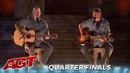 Broken Roots Singing Duo Get a Second Chance As a COMEBACK Act in The Quartefinals