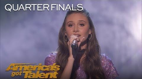 "Makayla Phillips 15-Year-Old Performs Beautiful Rendition Of ""Issues"" - America's Got Talent 2018"