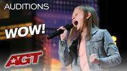 Woah! Simon Cowell Has Ansley Burns Sing Aretha Twice, She Nails It! - America's Got Talent 2019