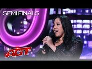 Gina Brillon Makes The Judges Laugh With FUNNY Stories About Kids - America's Got Talent 2021