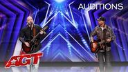 Broken Roots Performs Bon Jovi Classic Together For The First Time EVER! - America's Got Talent 2020-0