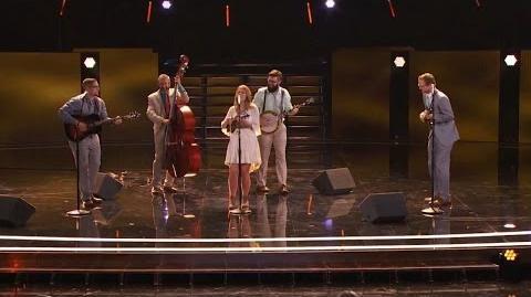America's Got Talent 2015 S10E10 Judge Cuts - Mountain Faith Band Bluegrass Band