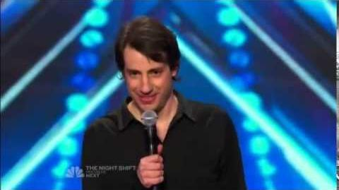 America's Got Talent 2014 Dan Naturman Auditions 1