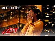 "Golden Buzzer- Jimmie Herrod Surprises the Judges With ""Tomorrow"" - America's Got Talent 2021"