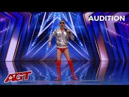 Pro-Wrestler Wannabe TRASH TALKS on America's Got Talent - Gets LOUDEST Boo From Crowd Ever!